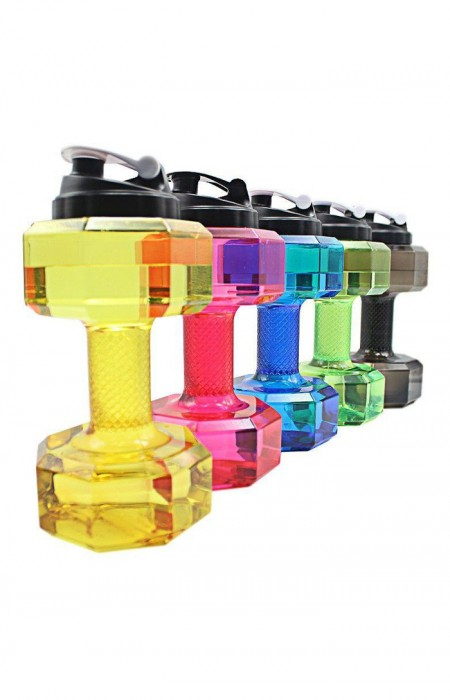 ALL COLORS OF GREEN FIT LYF™ GYM LIFTER - 2.5L DUMBBELLS GYM BOTTLE