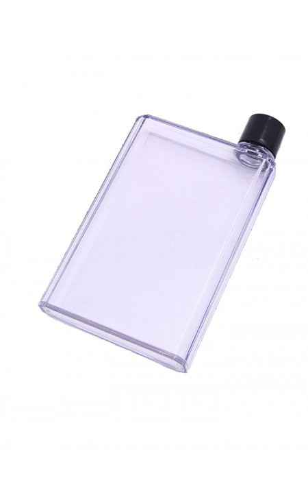 TRANSLUCIDE URBAN GAL™ A6 LETTER - FLAT WATER FLASK