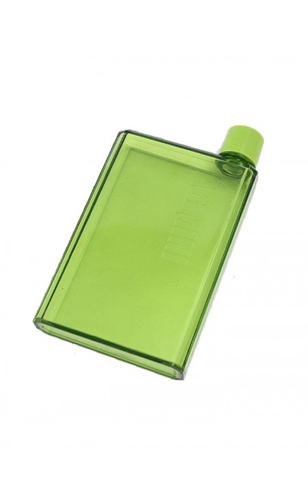 GREEN URBAN GAL™ A6 LETTER - FLAT WATER FLASK