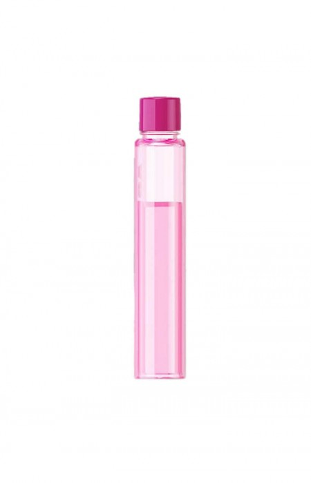 FRONT VIEW OF THE PINK URBAN GAL™ A6 LETTER - FLAT WATER FLASK