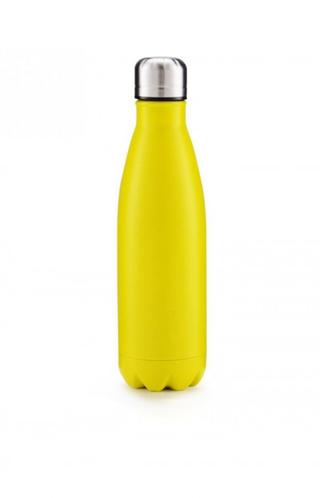 YELLOW MANIAK™ ICE AGE SPORTS - STAINLESS STEEL WATER BOTTLE