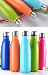 ALL COLORS OF MANIAK™ ICE AGE SPORTS - STAINLESS STEEL WATER BOTTLE