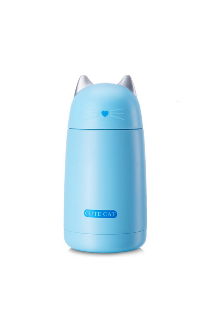 SKY BLUE MELO™ THE CUTE CAT - LEAK-PROOF THERMOS MUG