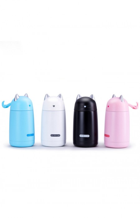 ALL COLORS OF MELO™ THE CUTE CAT - LEAK-PROOF THERMOS MUG