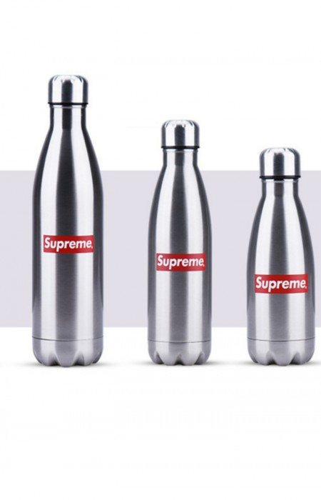 SUPREME™ FORCEFUL - STAINLESS STEEL WATER BOTTLE STEEL ALL FORMAT