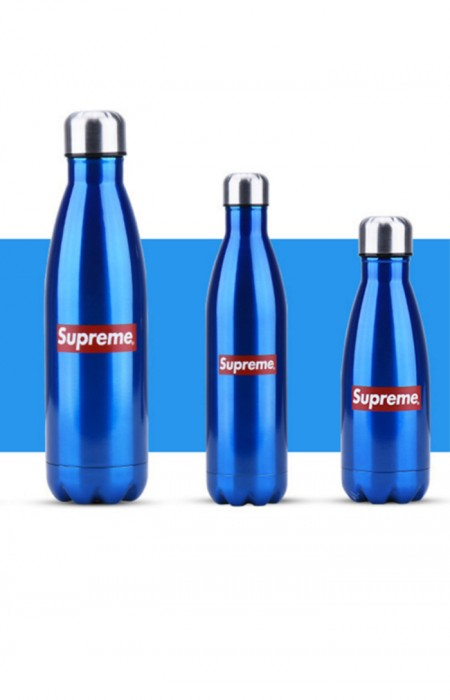 SUPREME™ FORCEFUL - STAINLESS STEEL WATER BOTTLE BLUE ALL FORMAT