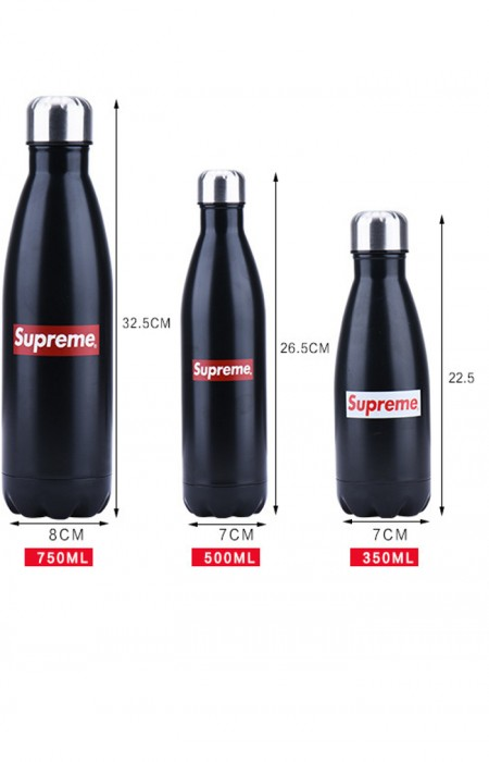 SUPREME™ FORCEFUL - STAINLESS STEEL WATER BOTTLE STEEL ALL FORMAT SIZE