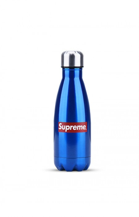 SUPREME™ FORCEFUL - STAINLESS STEEL WATER BOTTLE BLUE 350 ML