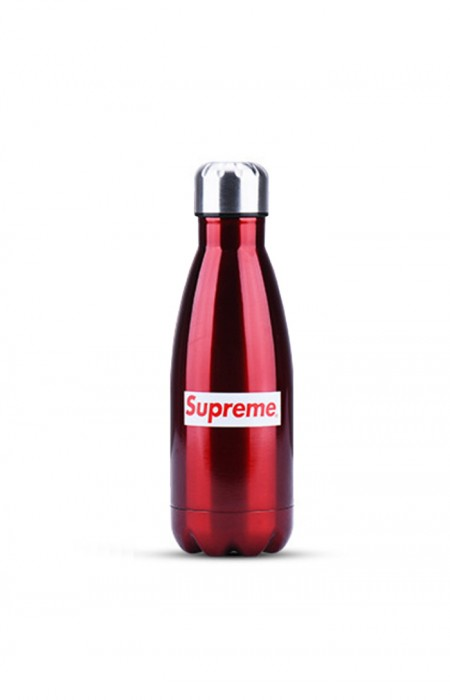 SUPREME™ FORCEFUL - STAINLESS STEEL WATER BOTTLE RED 350 ML