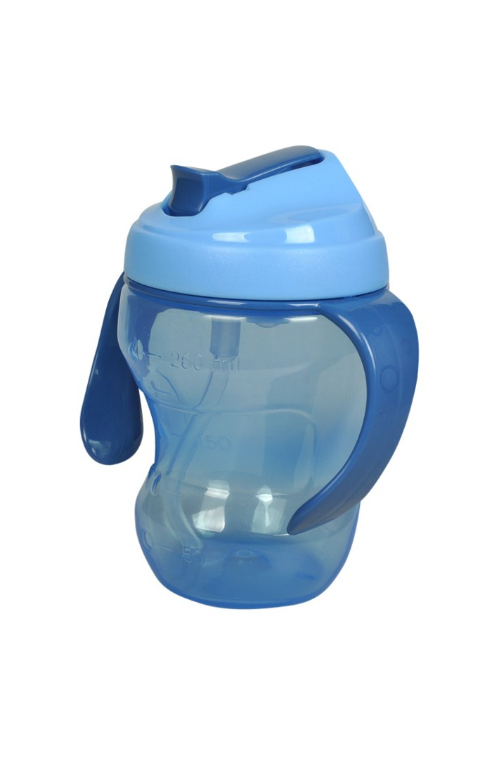 BAMBY™ TRAINING - KIDS STRAW CUP BLUE