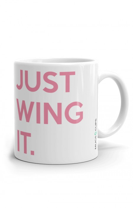 MUGS & CUPS™ JUST WING IT - TASSE À CAFÉ EN CÉRAMIQUE